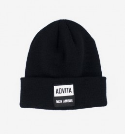 ADVITA-Beanie-MonAmour-Black