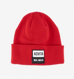 ADVITA-Beanie-MonAmour-Red