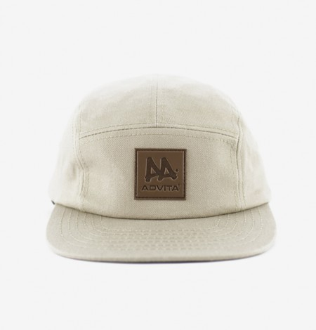 ADVITA-Cap-5Panel-Beige