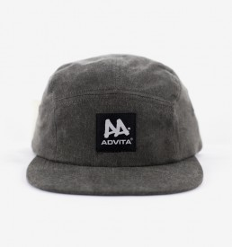ADVITA-Cap-5Panel-WashedDenim