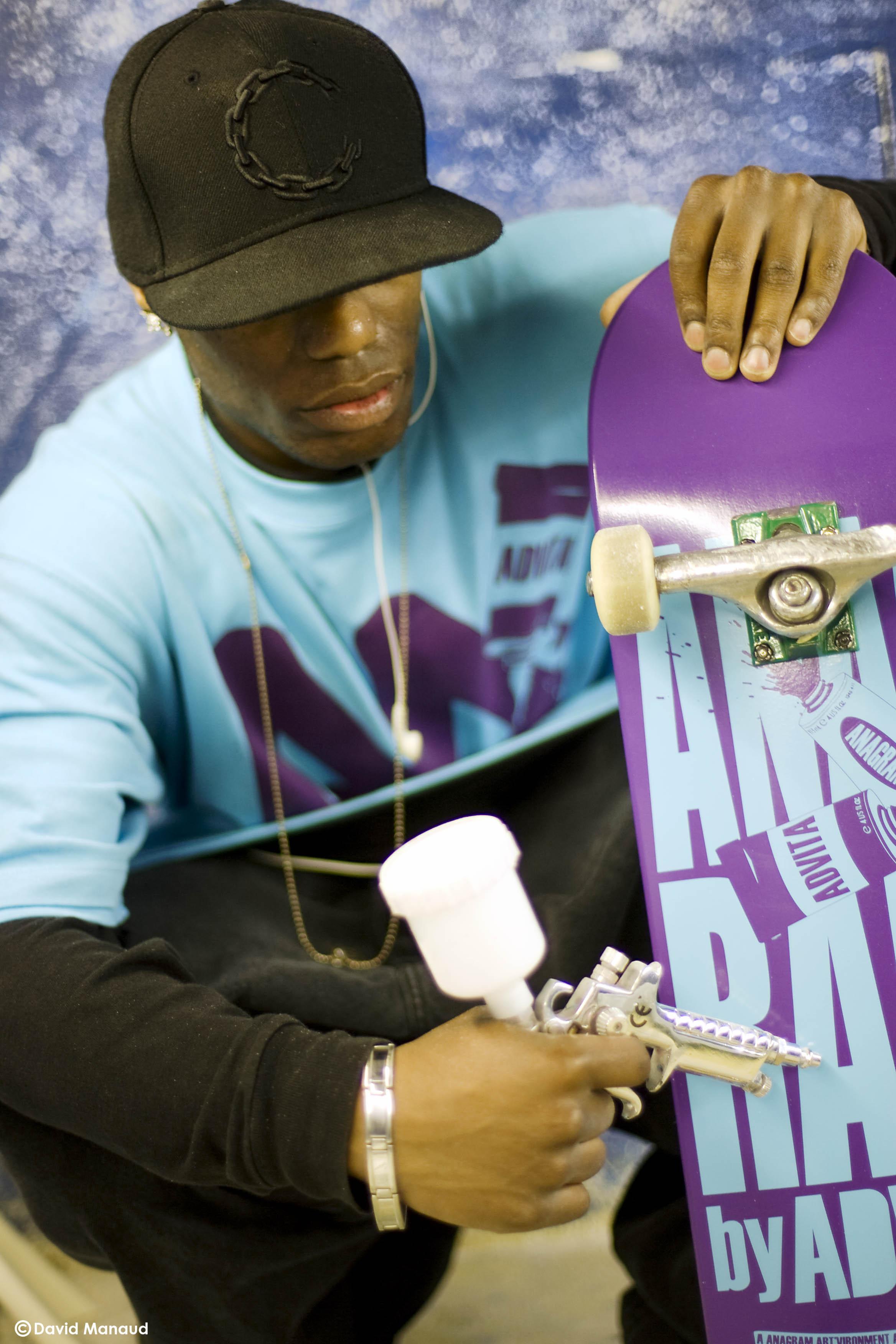 Anagram Skateboards x Advita / @ David Manaud